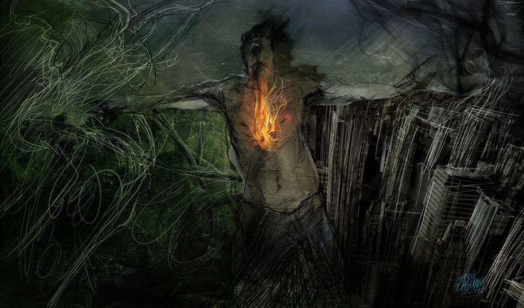 """""""Los hijos de los días"""" - Galeano ilustrado por Casciani 31/12 - acá podés leer el texto: http://andrescasciani.blogspot.com.ar/2016/12/los-hijos-de-los-dias-galeano-ilustrado_31.html"""