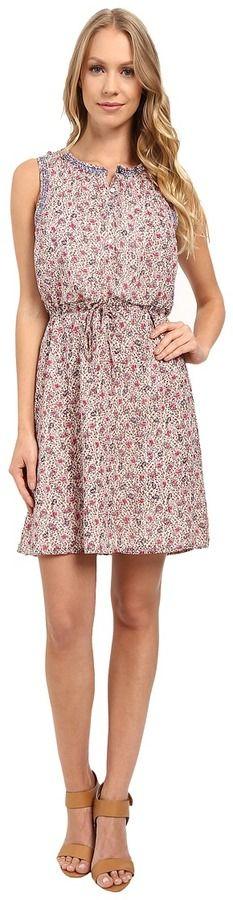 Lucky Brand Printed Paisley Dress