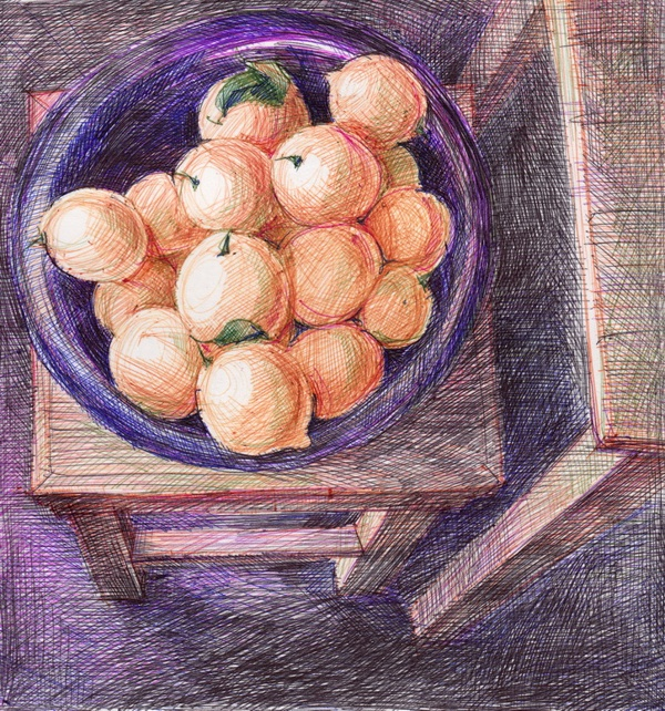 Lemons by Aleksandra , via Behance