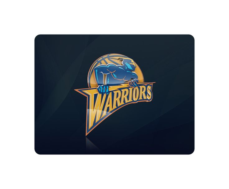 Golden State Warriors Basketball Mouse Pad