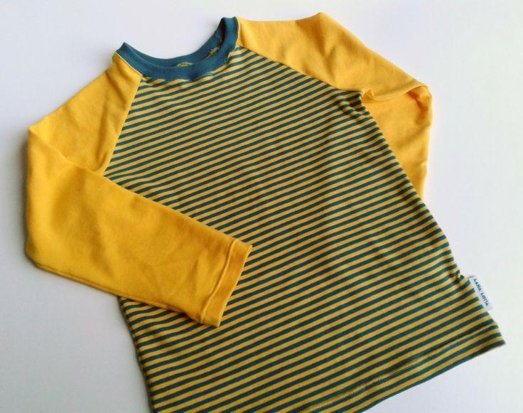 Tutorial raglan t-shirts