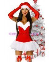 Mrs Santa Claus fancy dress Christmas costume #christmas #christmascostume #mrsclaus #blossomaccessories