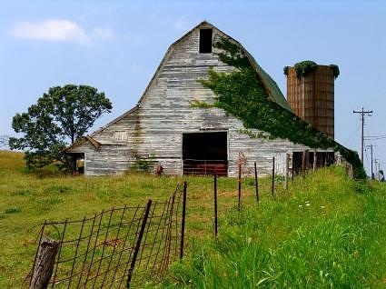 I just love barns like this!**