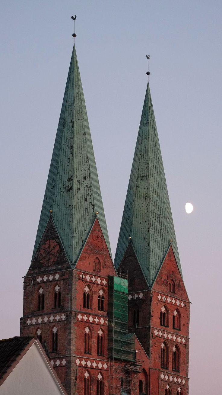Marienkirche, Lübeck. October 2014.