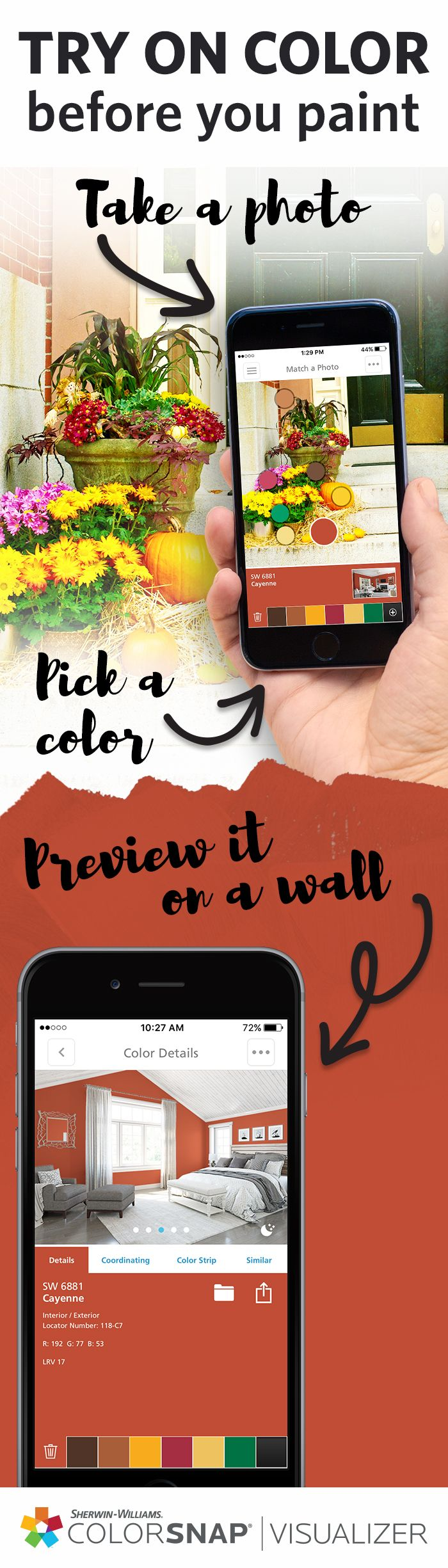 Beautiful Interior Paint Apps for iPhone