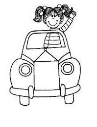 Land Transportation Coloring Pages For Preschool This Section Has A Lot Of Kindergarten And Kids