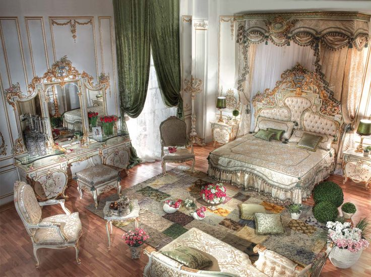 Art And Interior: SPECIAL SERIES: The Beds And Bedrooms Of The Richie Riches