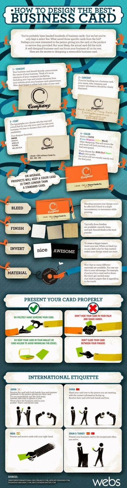 How To Desing The Best Business Cards
