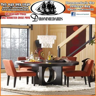 Whether you are looking for a conventional dining room suite or a custom built coffee table, Drommedaris offers you the choice. Speak to us for all your wooden furniture needs. #style #uniquedecor #lifestyle