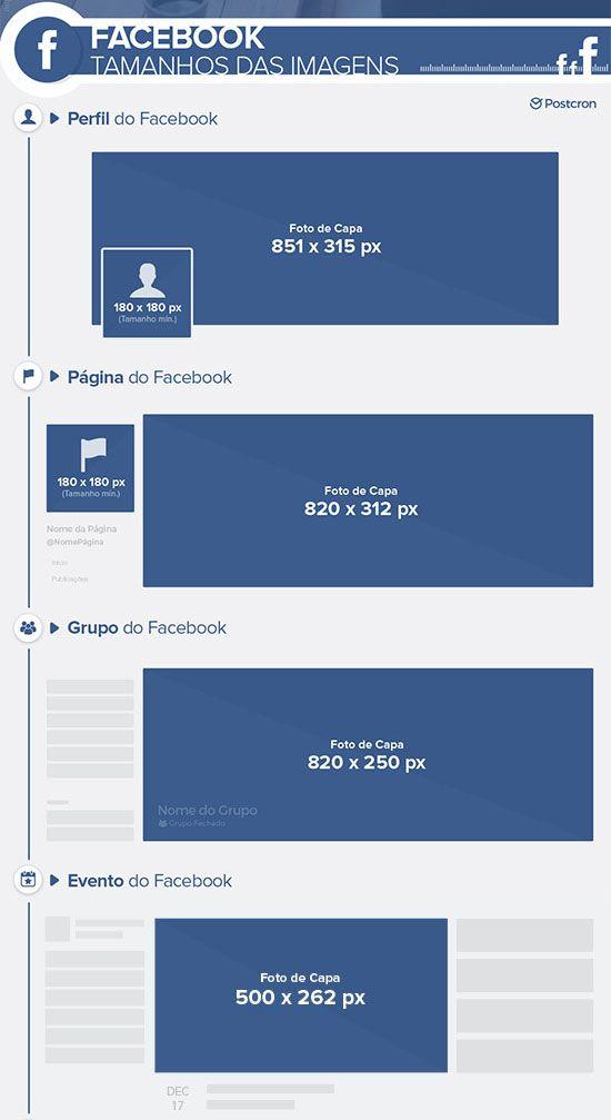 [2017] Nese artigo você encontra as informações corretas das medidas para as Foto nas Redes Sociais: tamanho da capa de Facebook, Youtube, Twitter e mais