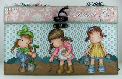 From My Craft Room: Seed Box - Magnolia-licious Spring Blog Hop