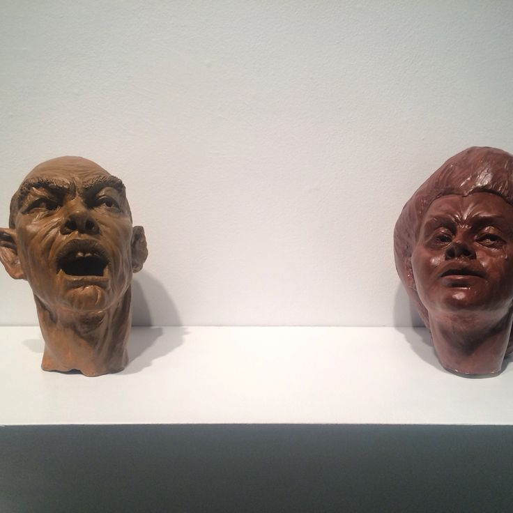 """Portraits at """"Guilty by Association"""" show at Herron School of Art and Design"""