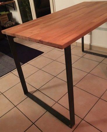 95 best pieds de table en acier brut images on pinterest | hairpin