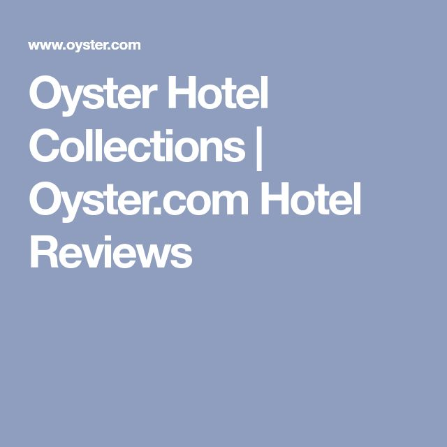 Oyster Hotel Collections   Oyster.com Hotel Reviews