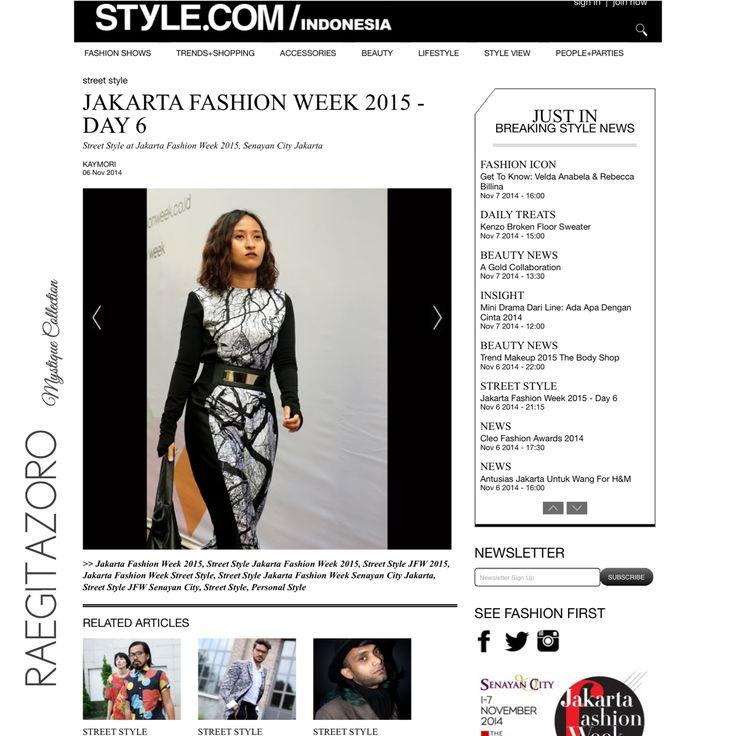 7 best jakarta fashion week 2015 images on pinterest fashion week thank you styleindonesia jumpsuit by raegitazoro mystique collection fashion week stopboris Images