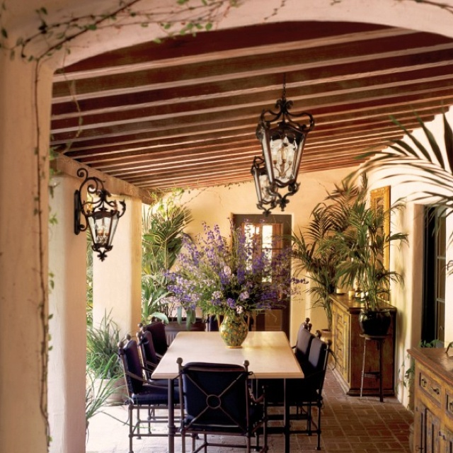 Classic Patio Ideas In Mediterranean Style: 75 Best Images About Tuscan Backyards On Pinterest