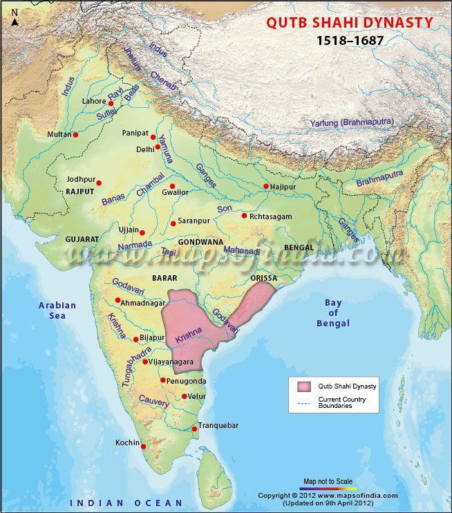 Map of Ancient Kalinga