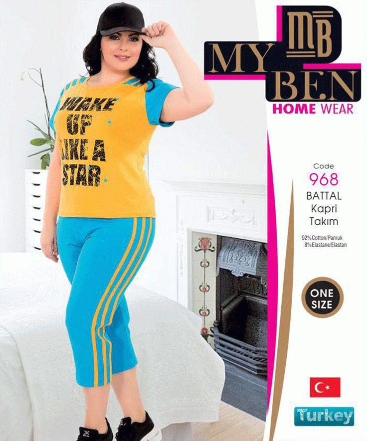 MY BEN 968 BAYAN KISA KOL KAPRİ TAKIM BATTAL BOY