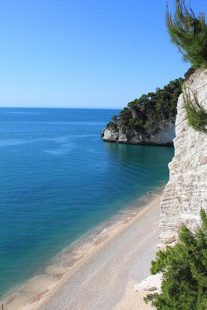 Baia delle Zagare, Gargano,province of Foggia Puglia, Italy