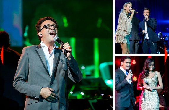 En el lanzamiento, los entrenadores de La Voz Colombia dieron un concierto de ataque