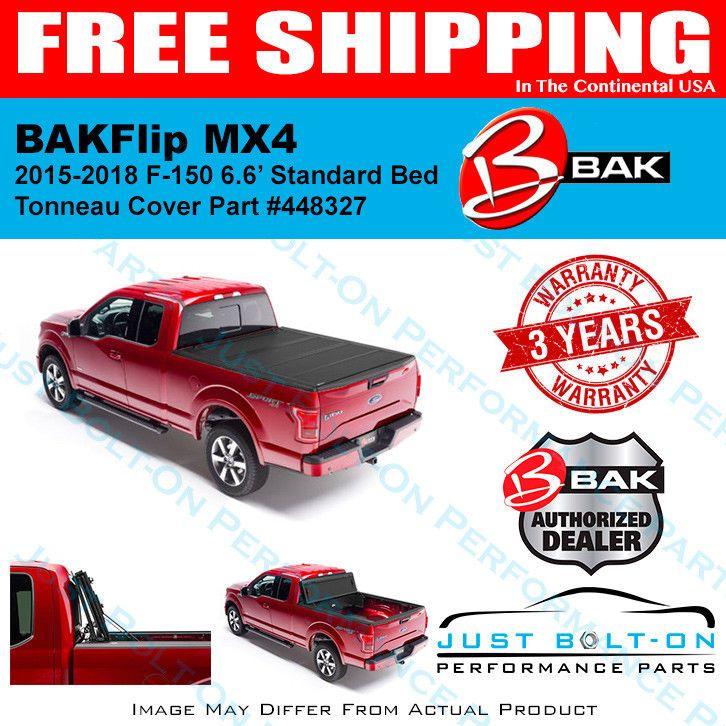 BAKFlip MX4 Hard Folding Tonneau Cover 20152018 F150 6.6