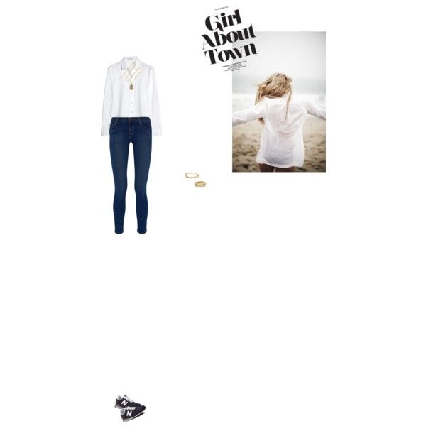 Bez tytułu #108 by izabelmaz on Polyvore featuring moda, Yves Saint Laurent, J Brand, Stella & Dot, Kenneth Jay Lane, Pippa Small and New Balance Classics