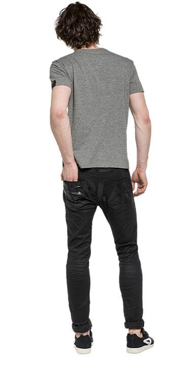 Jersey-T-Shirt mit Aufdruck