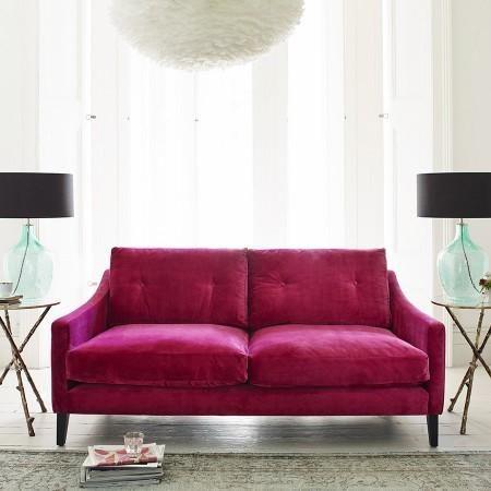 Seating   Deep Dream Sofa Collection I Graham And Green   Pink Velvet Sofa,  Modern