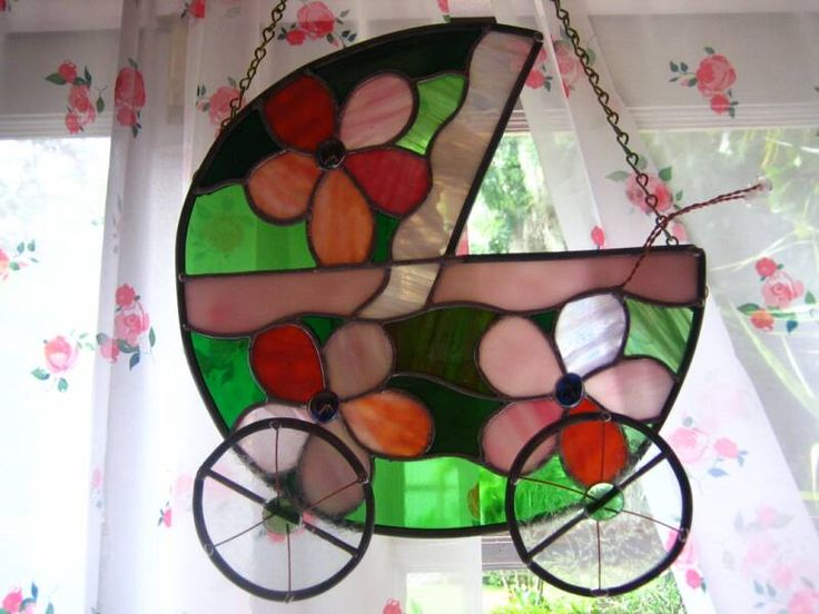62 Best Images About Stain Glass Baby Favors On Pinterest