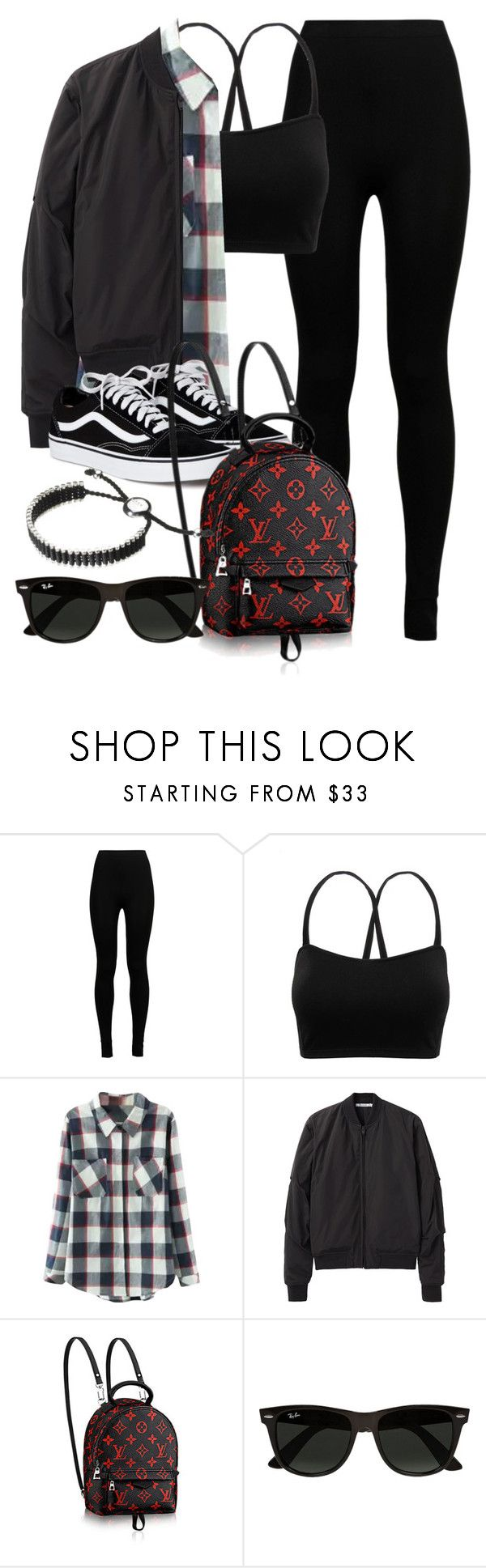 """""""Sin título #11988"""" by vany-alvarado ❤ liked on Polyvore featuring Wolford, Relaxfeel, T By Alexander Wang, Ray-Ban and Links of London"""