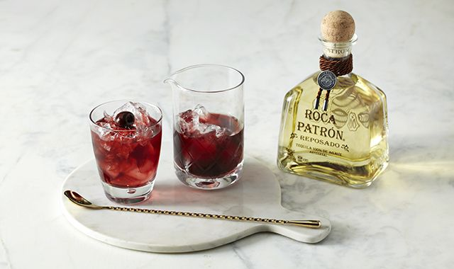 Try this Roca @Patron Reposado cocktail that will surely make you sing. #RocaPatron