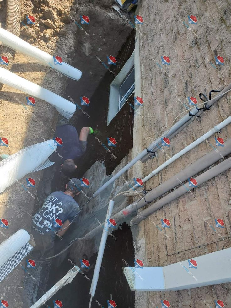 Foundation waterproofing services! https