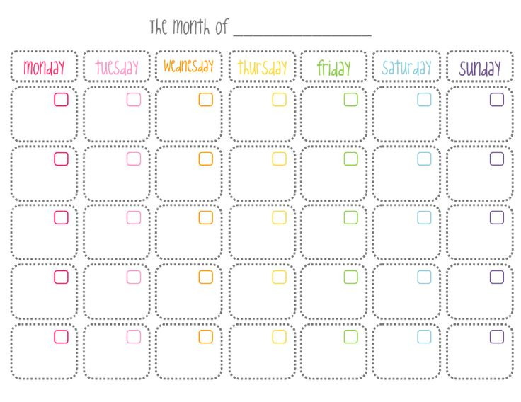 11 best images about Free Printable Calendars – Free Blank Calendar