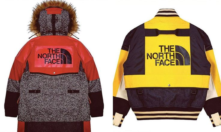Junya Watanabe x The North Face fall winter collection