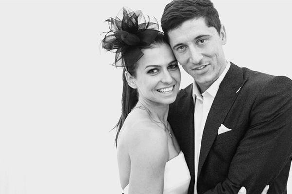 Anna i Robert Lewandowscy / więcej na Ślub Pełen Miłości <3