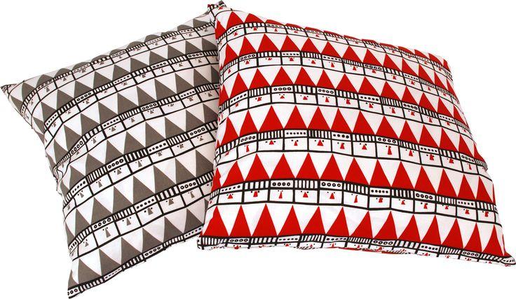 Frösö Handtryck - Hej tomtegubbar, design av Inger Westerberg   Froso Handtryck - Hello Santa, design by Inger Westerberg