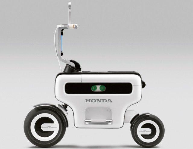 Honda Motor   Foldable Electric Scooter   Design !ndex