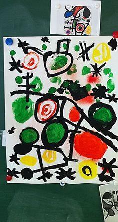 Peindre comme Miro!