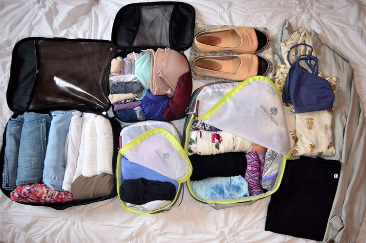 carry on packing cubes. NEED
