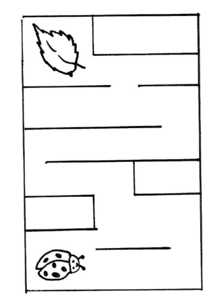 Printable worksheets for kids Mazes 39