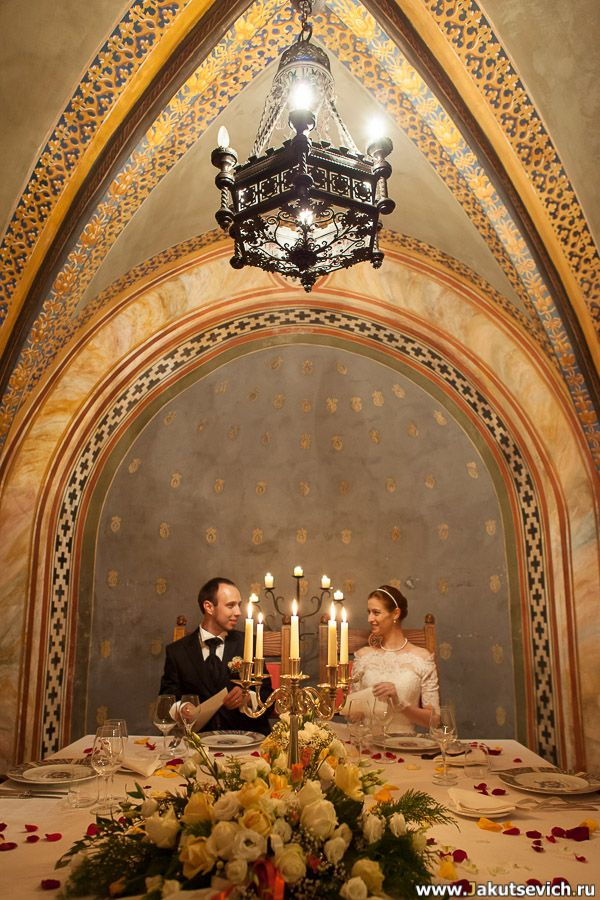 Свадьба в замке Castello di Pavone Организация свадьбы в Италии, фотограф http://jakutsevich.ru