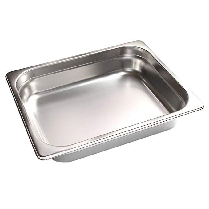 Futuresprout 4 Half Size Anti Jam Steam Table Pan For Cooking Storage For Restaurant Cafeteria Dining Hall Cat Hotel Buffet Steam Table Pans Steam Tables