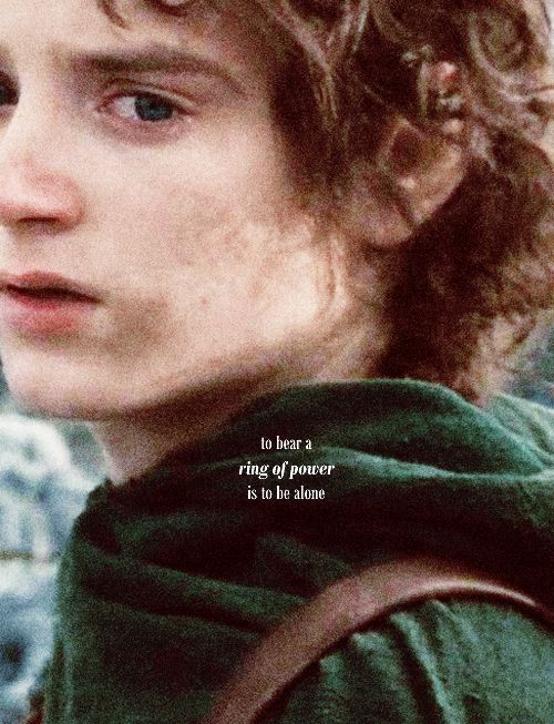 """""""You are the Ring-bearer, Frodo, if you do not find a way, no one will."""" Breaks your heart to see this pain."""