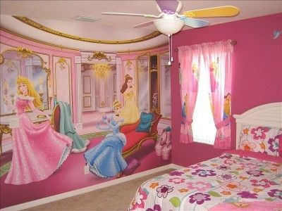 31 best images about disney themed rooms on pinterest for Kids princess bedroom designs