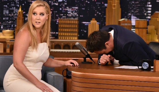 #fallon  Jimmy Fallon: when he s around, there is rarely a dull moment. And when you add comedian Amy Schumer to the mix, The post Jimmy Fallon And Amy Schumer Just Trolled Bradley Cooper On National Television appeared first on TrendingCenter.com.
