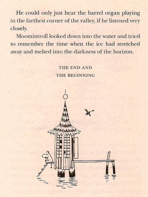 Most endings are also beginnings. | 50 Lessons That Moomins Can Teach You About Life