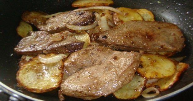 Pork Liver Steak (Bistek Style)