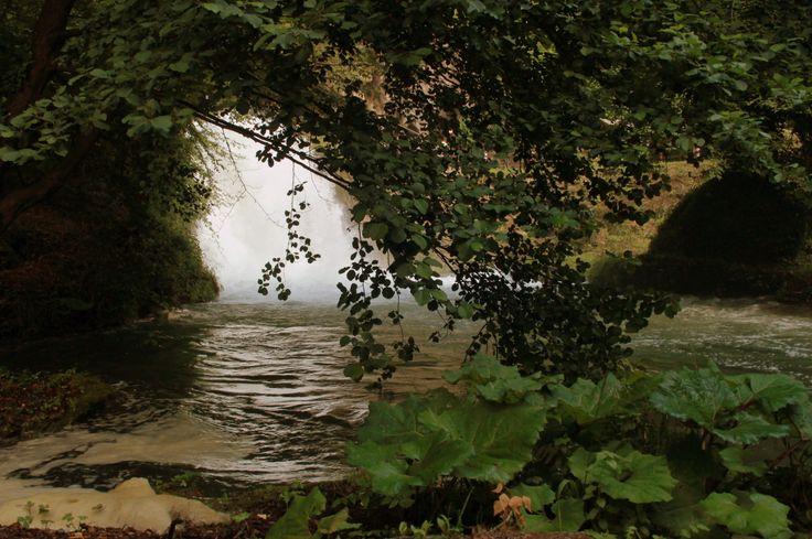 Un'altra foto dal parco della cascata delle Marmore.