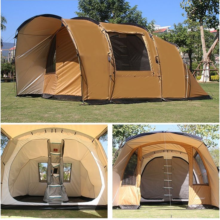 Playdo 4.7M/15.4ft Large Family Camping Tent Multi Rooms ...