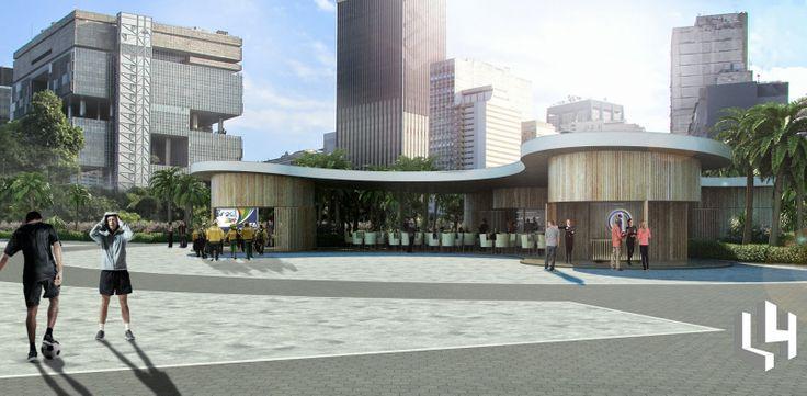 Layout 4 architecture: Concurso internacional [RIO DE JANEIRO] Symbolic W...